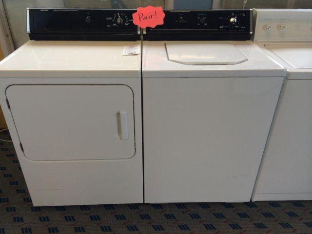 Hotpoint Top Load Washer Amp Dryer Set Pair Used For