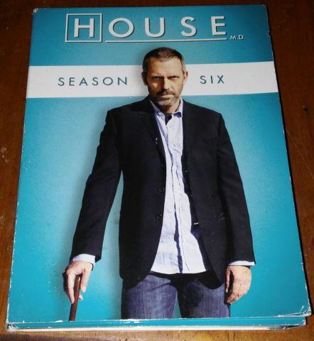 House M.D. Season 6 (Dvd) & Season 8 Bluray