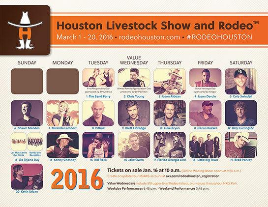 Houston Rodeo Tickets In Section 139*Field Level
