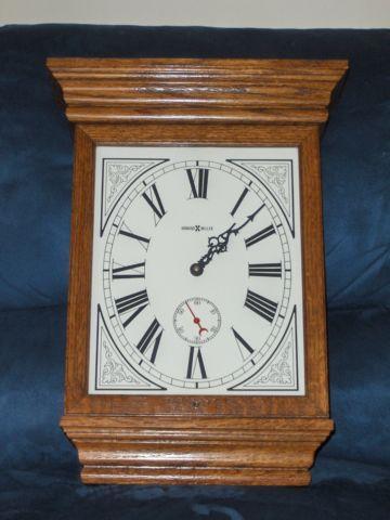 Howard Miller Fables Wall Mount Clock 613 239 Solid Oak