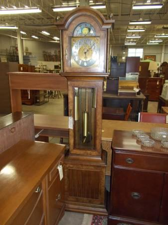 Howard Miller Grandfather Clock - $395