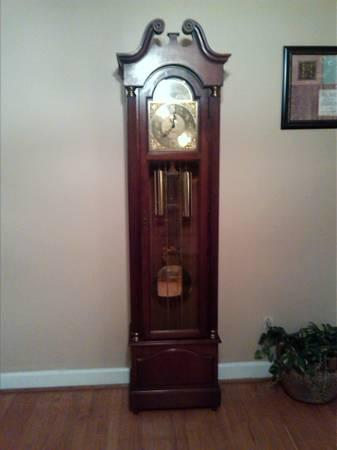 Howard Miller Grandfather Clock For Sale In Lindsey
