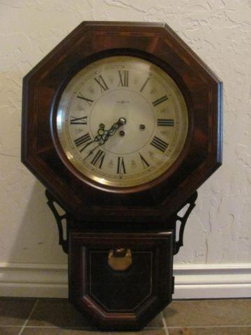 Howard Miller School House Octogon Wall Clock W Pendulum