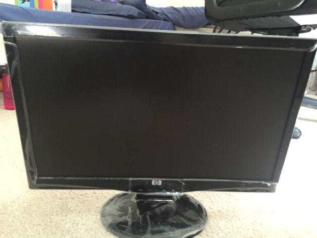 HP 20 wide screen LCD monitor for computer