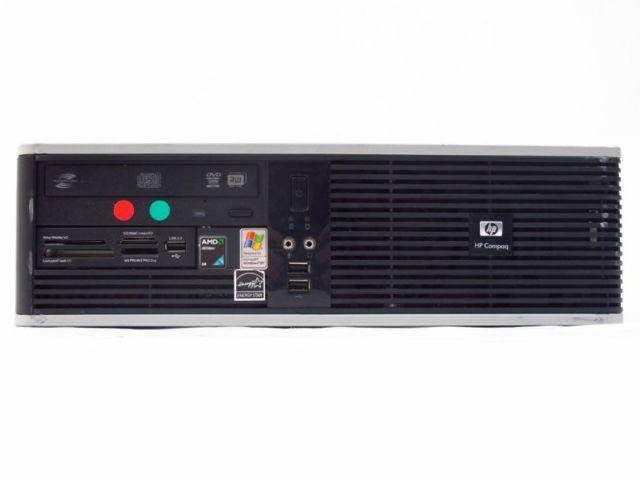 HP Compaq Desktop Computer Model: DC5750 Small Form AMD
