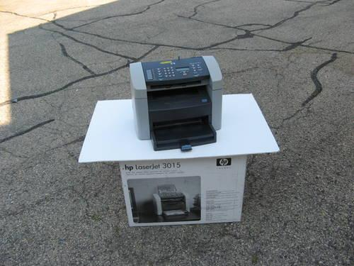 hp laserjet 3015 all in one printer for sale in madison wisconsin classified. Black Bedroom Furniture Sets. Home Design Ideas