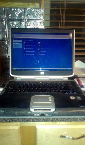 HP Pavilion Laptop with Case, Charger, and Microsoft