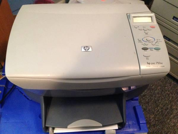hp psc 750 xi printer copy scan for sale in roy utah classified. Black Bedroom Furniture Sets. Home Design Ideas