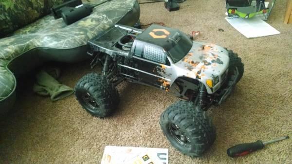 hpi savage x rc truck - $300
