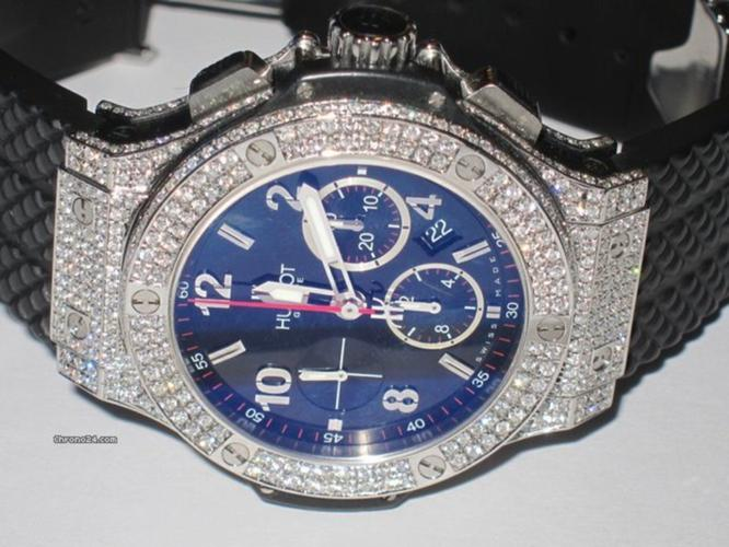 Hublot Big Bang Chronograph Diamonds