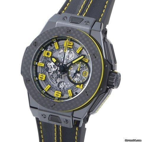 Hublot Big Bang Ferrari Ceramic Carbon Mens Chronograph