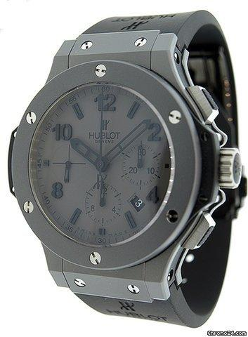 Hublot Tantalum Big Bang Matte Grey Chronograph Mens Watch 301.AI.460.RX