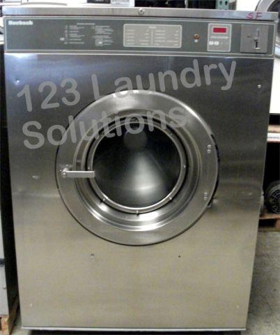 Huebsch HC80VXVQU60001 Front Load Washer Stainless