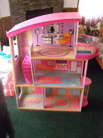 Huge Barbie Toy Lot Dolls House etc - $250