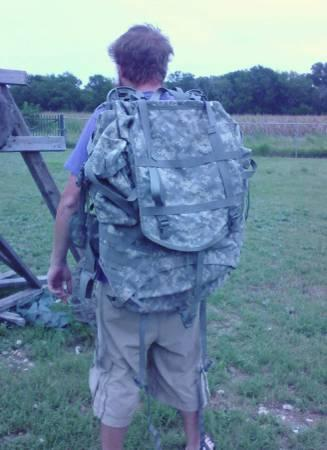HUGE  Frame  Backpack Pack Bag Military Grade - $100