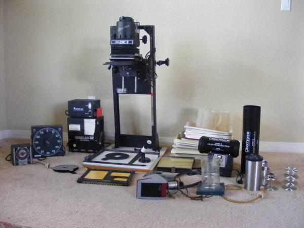 HUGE LOT ~ Full Color darkroom Beseler enlarger colorhead condenser - $325