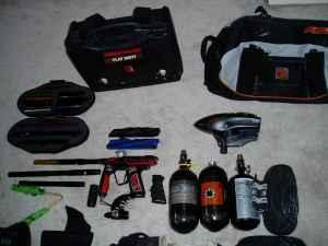 huge lot proffesional paintball gear - $700