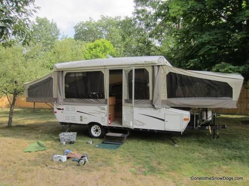 Huge Pop Up Camper With Slide Out 2006 Starcraft Pop Up