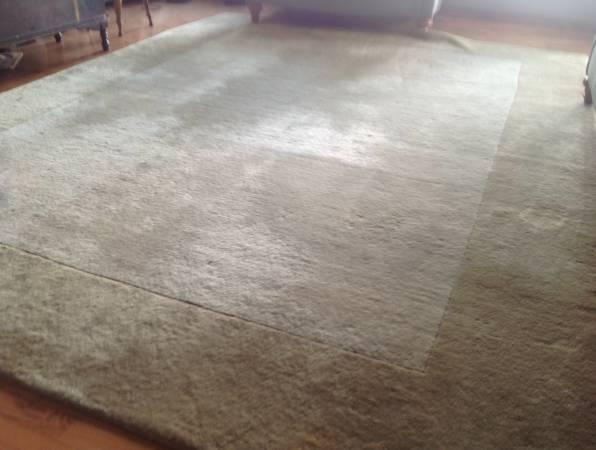 HUGE Pottery Barn Wool Rug 12x9 - $200
