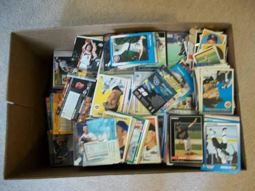 Huge Sports Card Lot 20000 Cards Great Collectors Lot