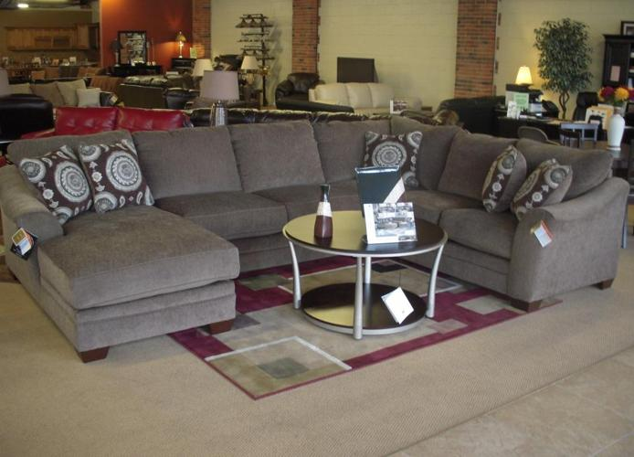 Gt Gt Huge U Shape Sectional Sofa W Chaise By Ashley Brand