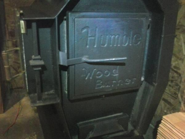 HUMBLE WOOD BURNER/NEW/REDUCED - for Sale in Toledo ...