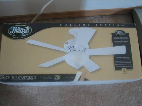 Hunter ceiling fan for sale in scotrun pennsylvania classified hunter ceiling fan aloadofball Image collections