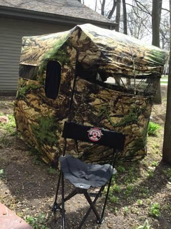 Hunting Blind-Wild Thing Backpack-Hunting Chair - $360
