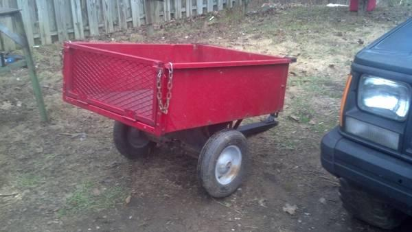 Hunting/camping trailer - $60