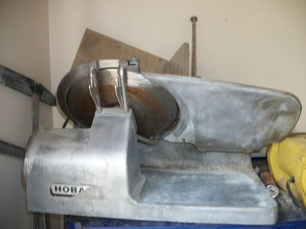 HUNTING SEASON..hobart commercial meat slicer - $250