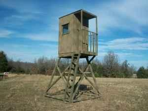 HUNTING TREE HOUSE OR STAND (LEBANON)