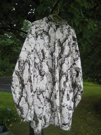 Hunting-White Natural-Jacket & Pants - $40