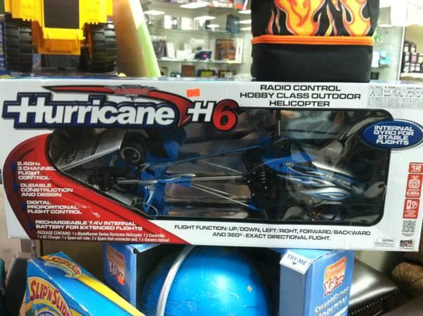 Hurricane H6 Radio Control Outdoor Helicopter For Sale In Garden Grove California Classified