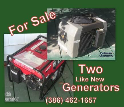 HURRICANE SEASON...Generators!Almost New