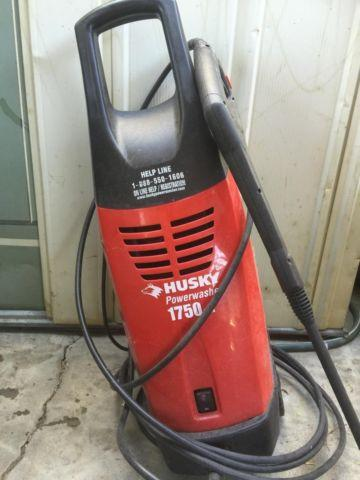 Husky Power Washer 1750 Psi Residential For Sale In