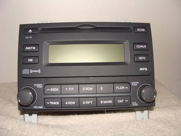 Hyundai Elantra AM FM CD MP3 Player Radio OEM 2007 2010
