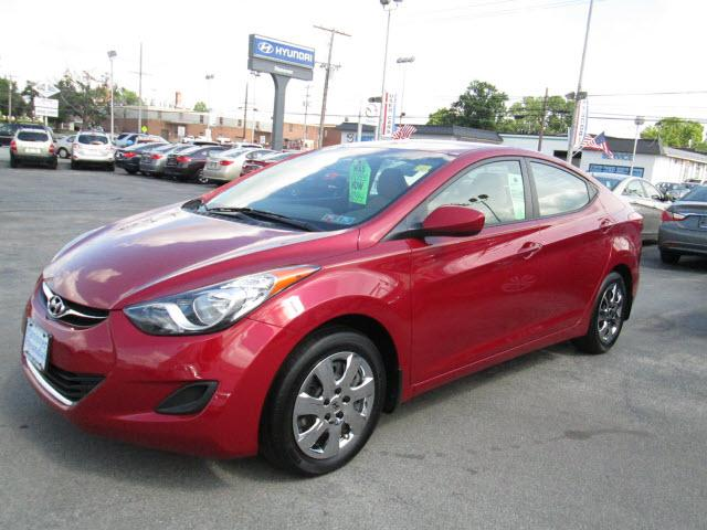 Hyundai Elantra Gls 4dr Sedan Pzev 2013 For Sale In