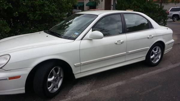 hyundai sonata 2005 v6 white glx lx for sale in austin texas classified. Black Bedroom Furniture Sets. Home Design Ideas