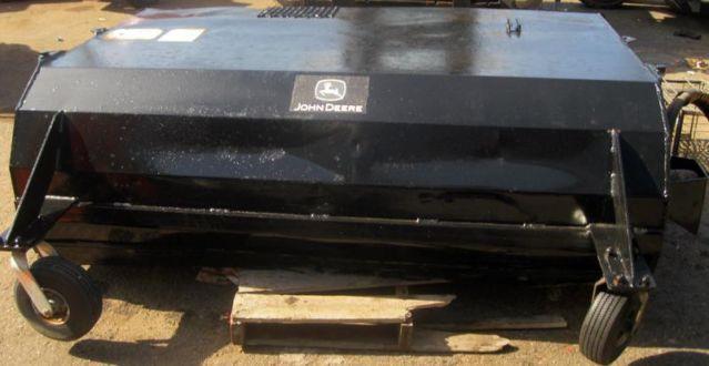 i.5203 John Deere Skid Steer Worksite Pro BP72 72 Sweeper