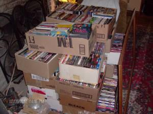 I BUY DVD COLLECTIONS - $1 (madera)