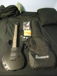 Ibanez Electric Guitar and Accessories - $250 (Gary,