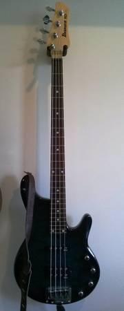 Ibanez RDGR 4 String Bass, Career AMP and FX Case - for Sale in ...