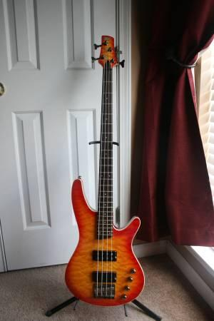 Ibanez SRX3EXQM1 4-String Bass Guitar with Quilt Maple Top - for ...