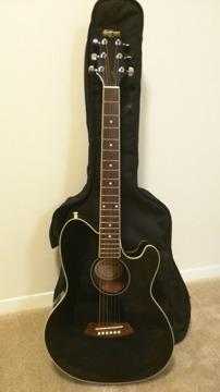 Ibanez Talman Acoustic Electric Guitar W Gig Bag For Sale In