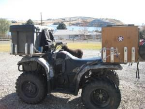ice fishing boxes mounts on fourwheeler - $80 helena