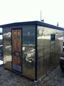 Ice fishing shanty hartford wi for sale in milwaukee for Ice fishing shelters for sale
