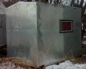 Ice shanty menasha for sale in appleton wisconsin for Ice fishing shanty for sale