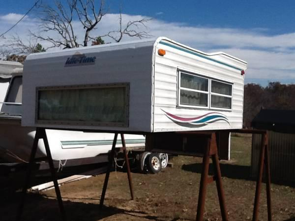 Idle Time Long Bed Camper Shell For Sale In Cromwell