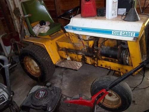 IH 125 Cub Cadet Tractor, 42