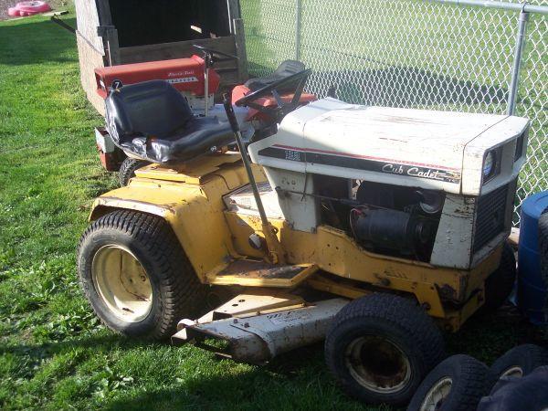 IH Cub Cadet 129 Hydrostatic W/Mower Deck - $525
